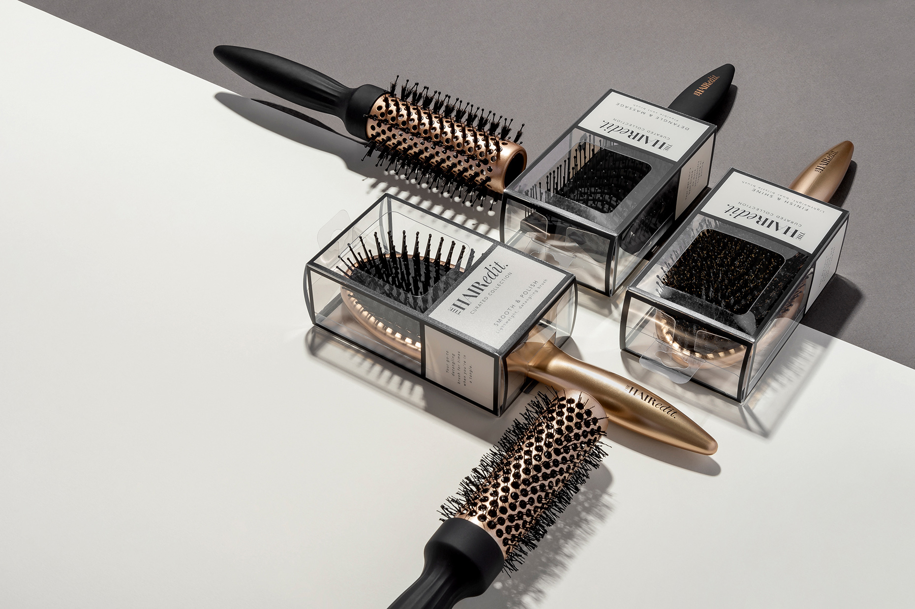 Fromm Hair Care Products, Brushes, combs, Advertising imagery