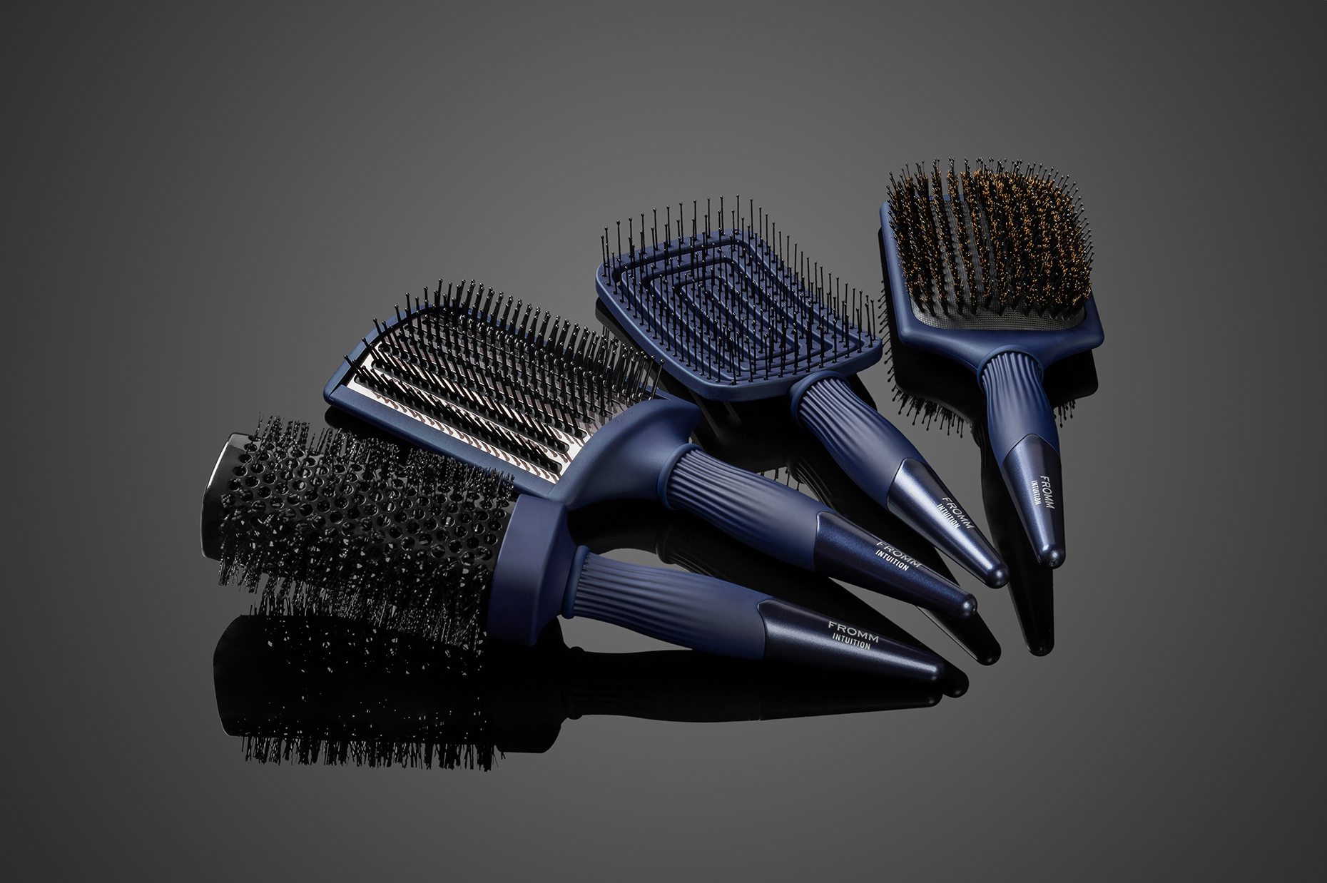 Fromm Hair Brushes, flat brushes series, for hair care professionals